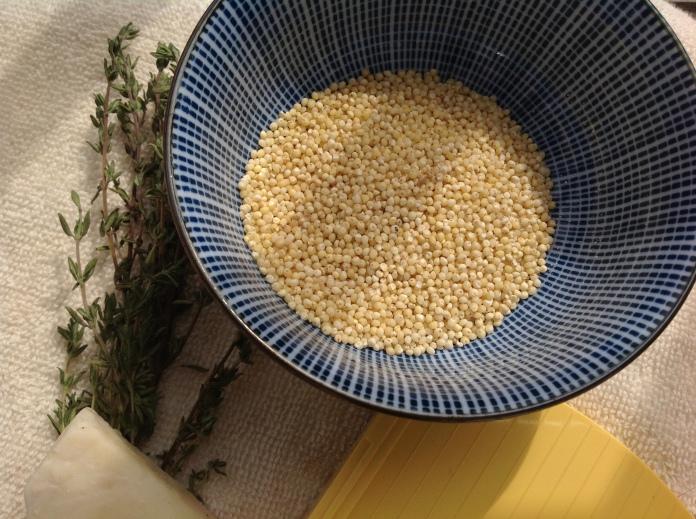 millet close up