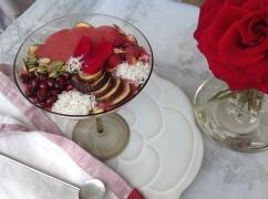 smoothie bowl Pitta schuin boven met servet