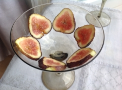 smoothie bowl Pitta vijgen in glas