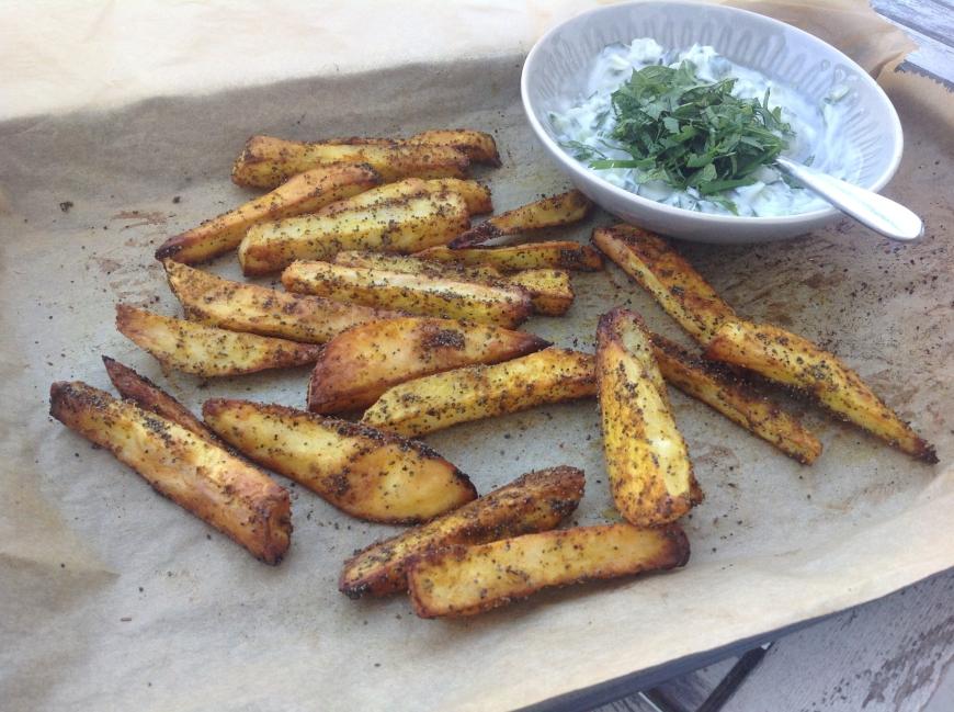 garam masala friet gebakken